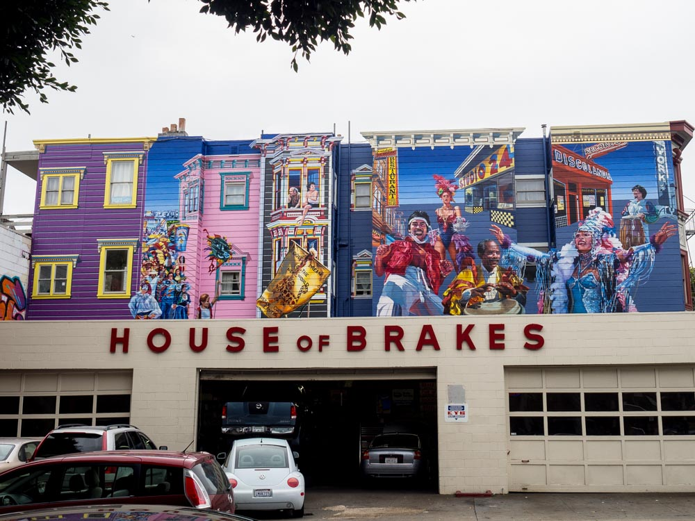 SF House of Brakes Murals