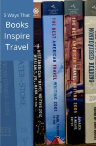 Reading and traveling are symbiotic activities. Books inspire travel which encourages reading. Explore these 4 ways to get the better of both.