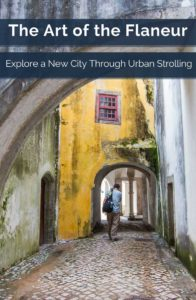 A Flaneur is an urban stroller--someone who likes to experience a city up close and on foot. Take a self-guided walking tour and discover the lure of flaneuring