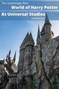 A visit to Universal Studios Hollywood will give you a surprisingly realistic experience in the fantasy world of Harry Potter. Take it from a Ravenclaw, you'll have a great time.