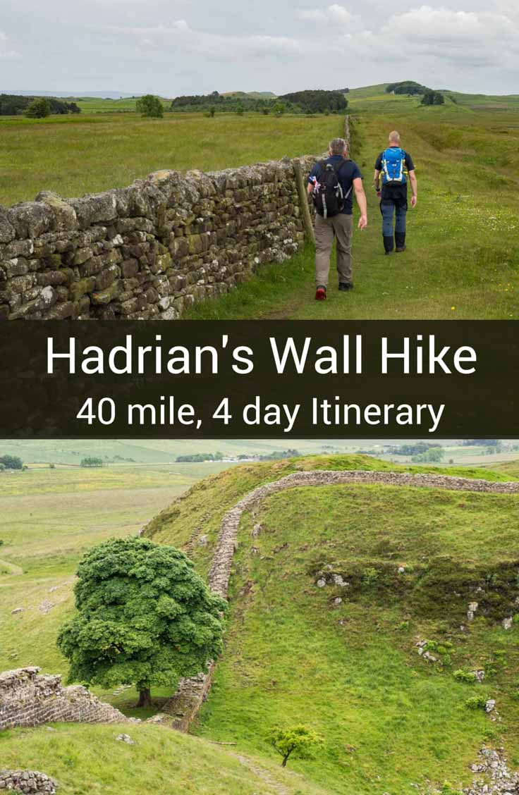 "Tackle the Hadrian's Wall walk with this 4-day 40 mile itinerary. It's a ""best of"" itinerary with practical tips for having a great walk."