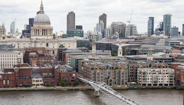 London City View from Tate Modern