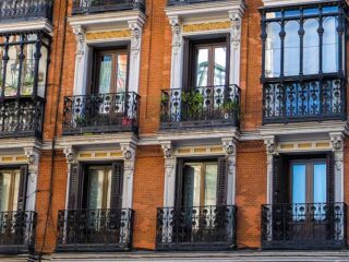 Building Facade in Madrid