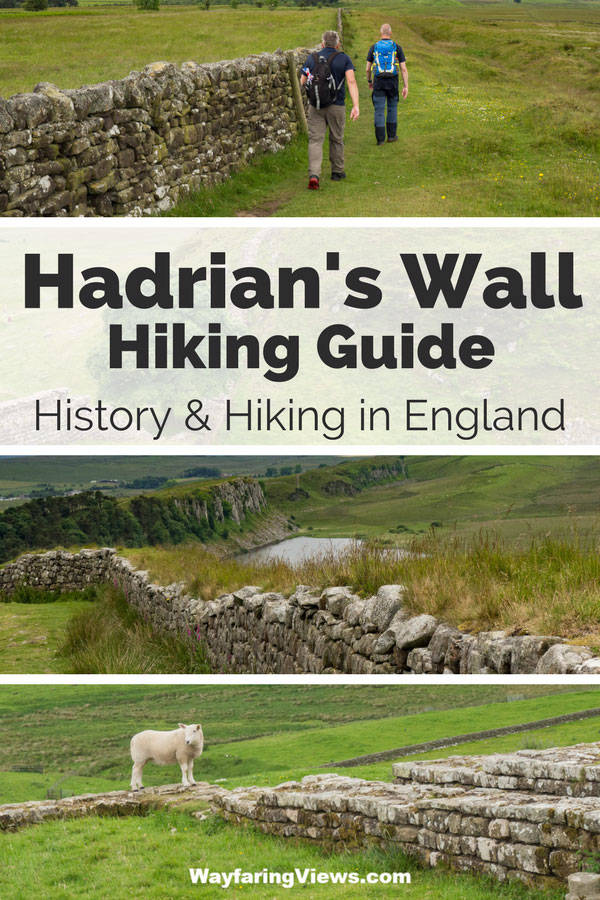 Hadrian's Wall Hiking Guide itinerary