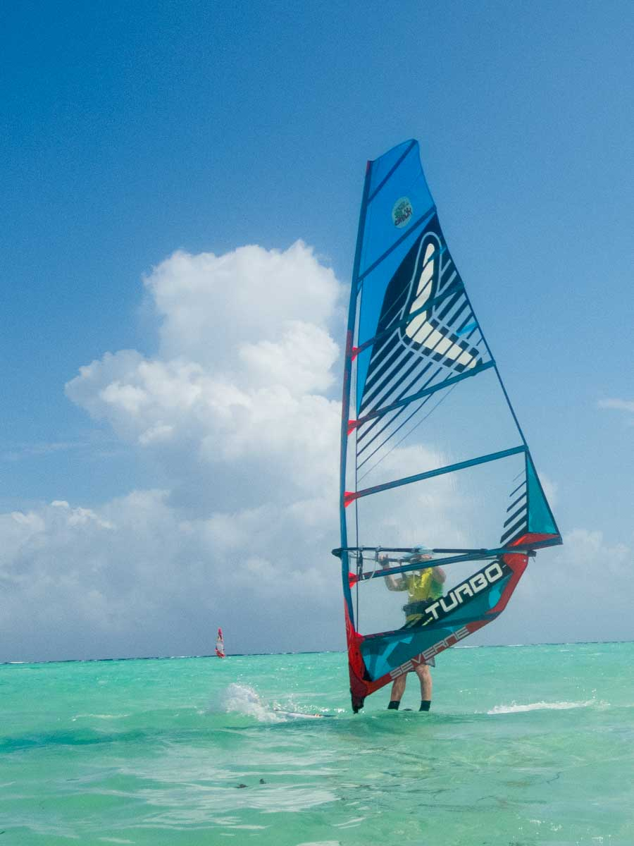 Things to do in Bonaire Windsurfing