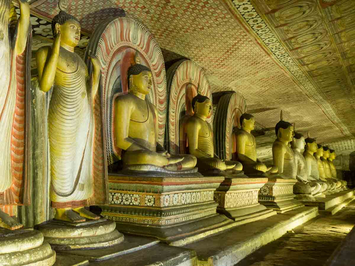 Sri Lanka Points of Interest Dambulla Caves