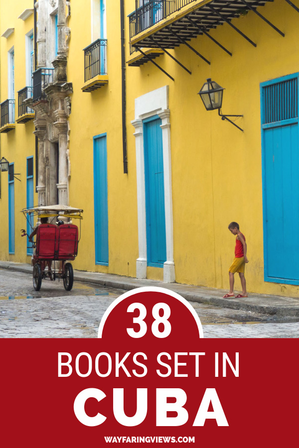 Grow your TBR list with this list of 38 books about Cuba. It includes fiction, nonfiction, mysteries, sci-fi and revolutionaries.