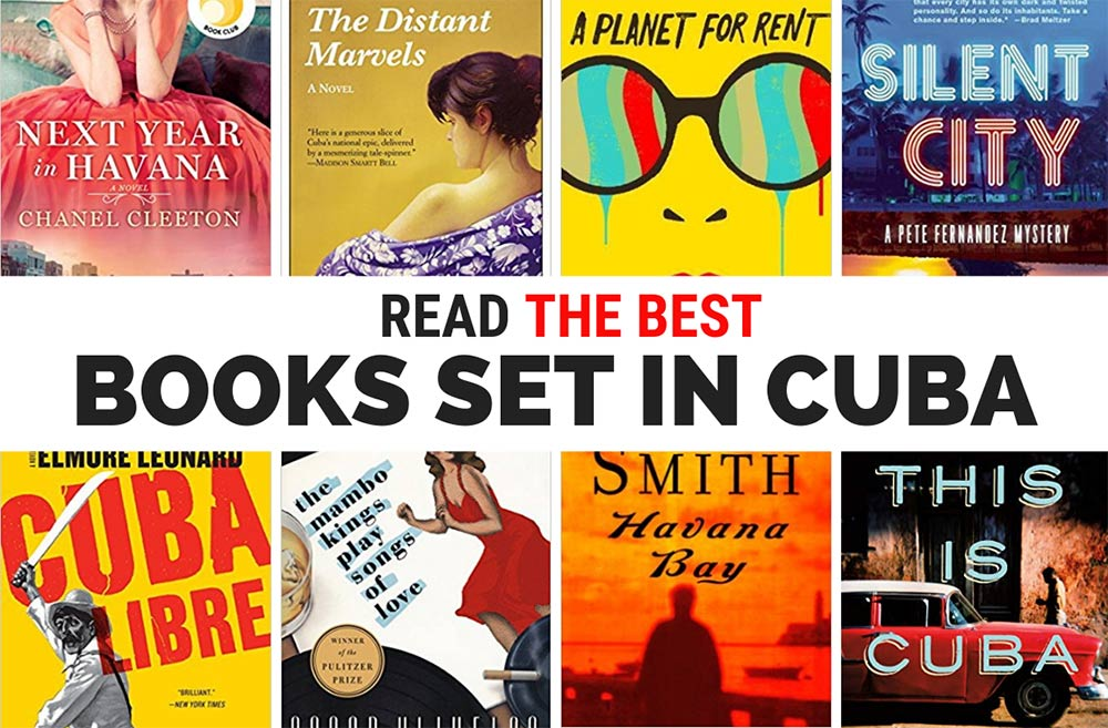 Fill up your TBR list with these 40 books set in Cuba and get inspired to go there.