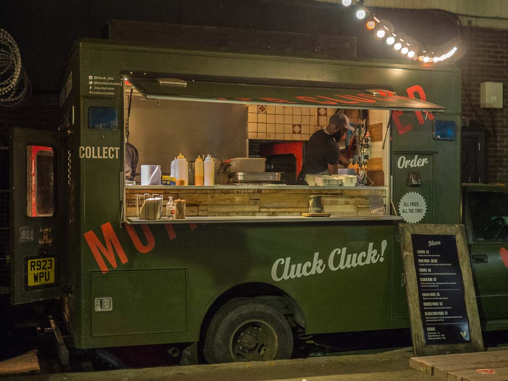 Shoreditch Ely's Yard CluckCluck