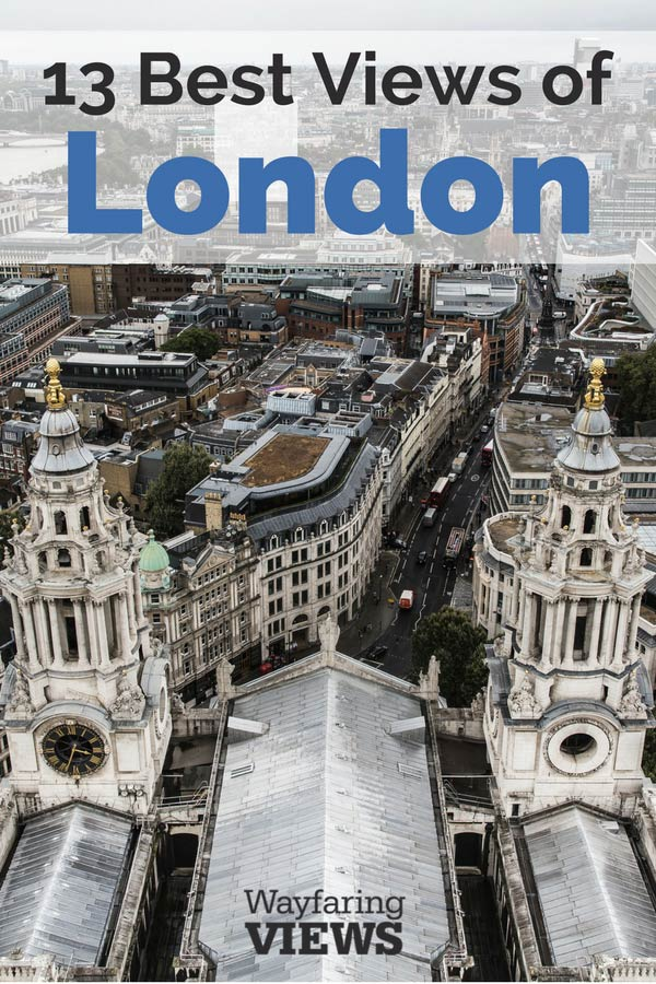 See the best views of London with this guide to all the best sky high spots. Things to do in London | Shard | Tower of London | London Eye | #Travel to #England