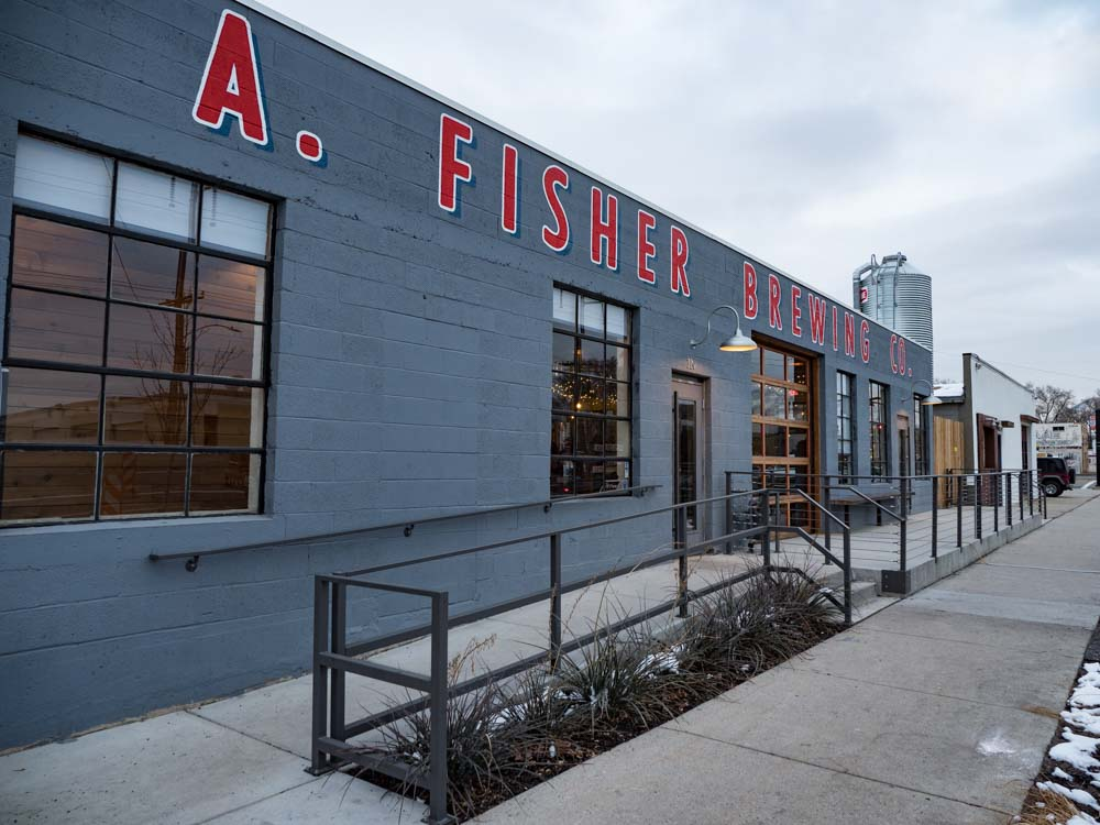 A. Fisher Brewery in Salt Lake City Utah