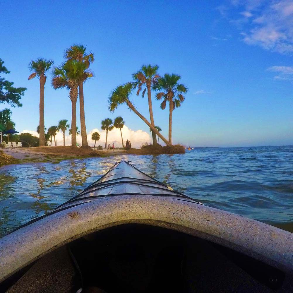 Kayaking activities in Panama City Beach Florida