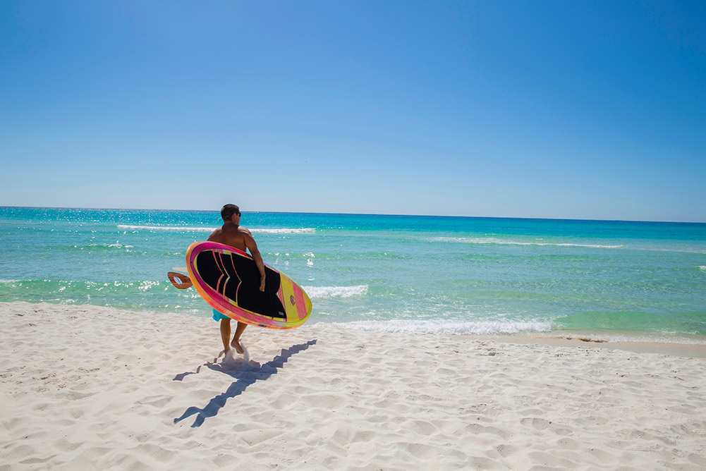 Activities to do in Panama City Beach Florida- Paddleboarding