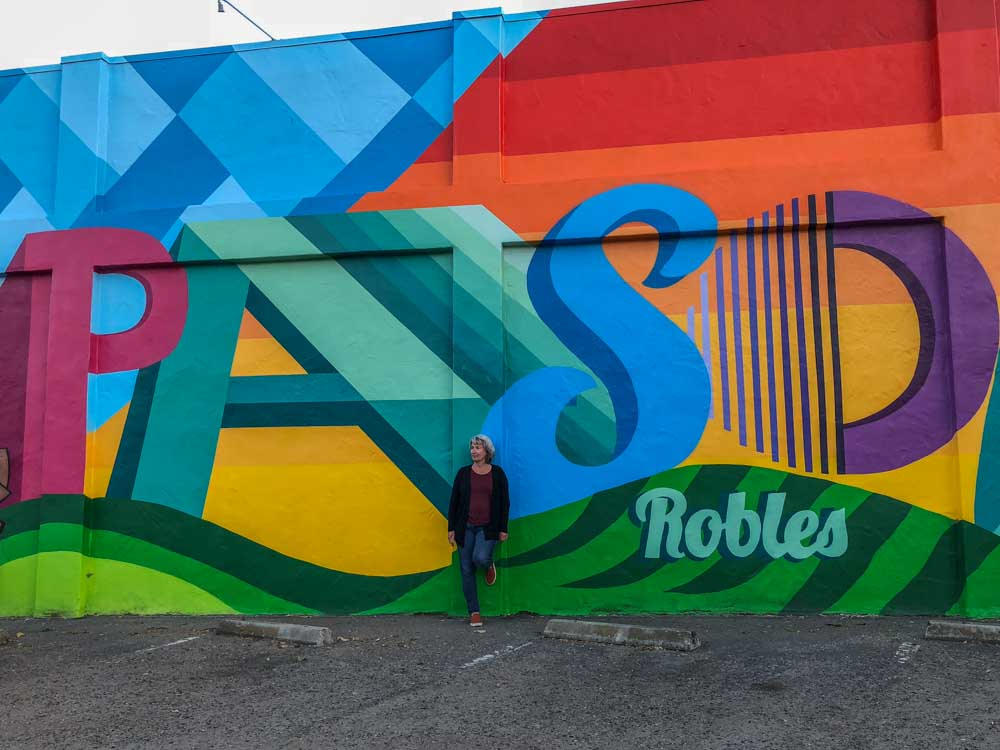 Paso Robles downtown mural