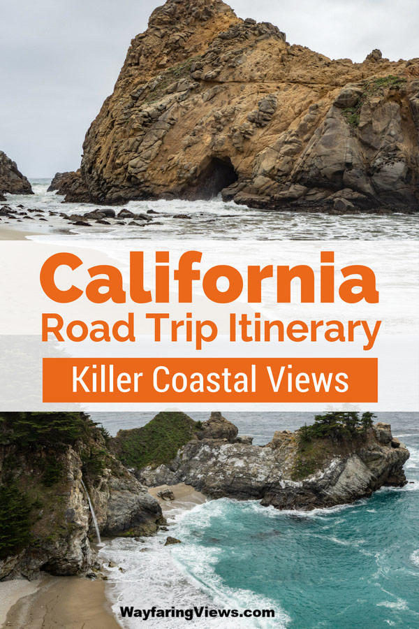 Get your planning guide for a 1-week California coastal road trip itinerary. Six day Pacific Coast Highway itinerary.