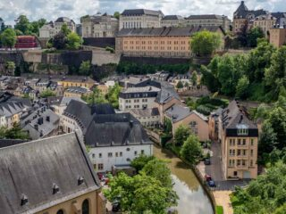 What to do in Luxembourg: See Old Town from the Bock Casements