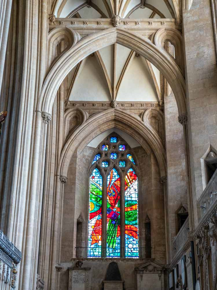 Bristol Cathedral Stained Glass window