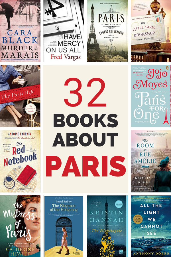 Load up your nightstand with this epic list of books set in Paris. This list features novels, mysteries, historical fiction, memoirs and histories...all featuring Paris at the main character .