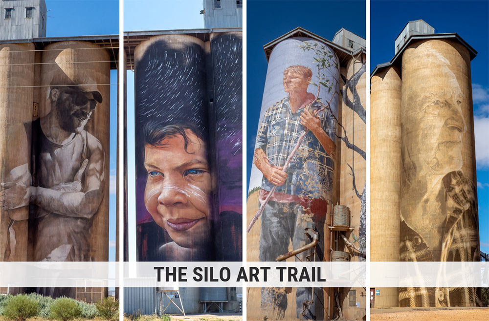 The Silo Art Trail: Surprising Street Art on Rural Roads