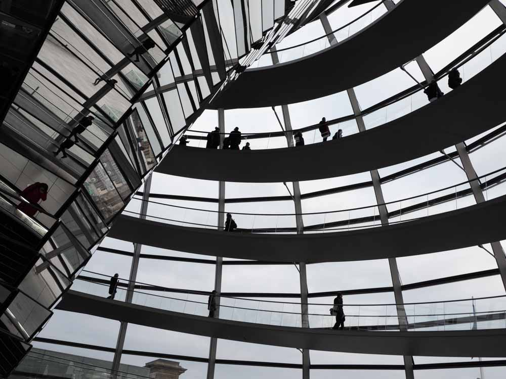 Berlin's Reichstag's dome