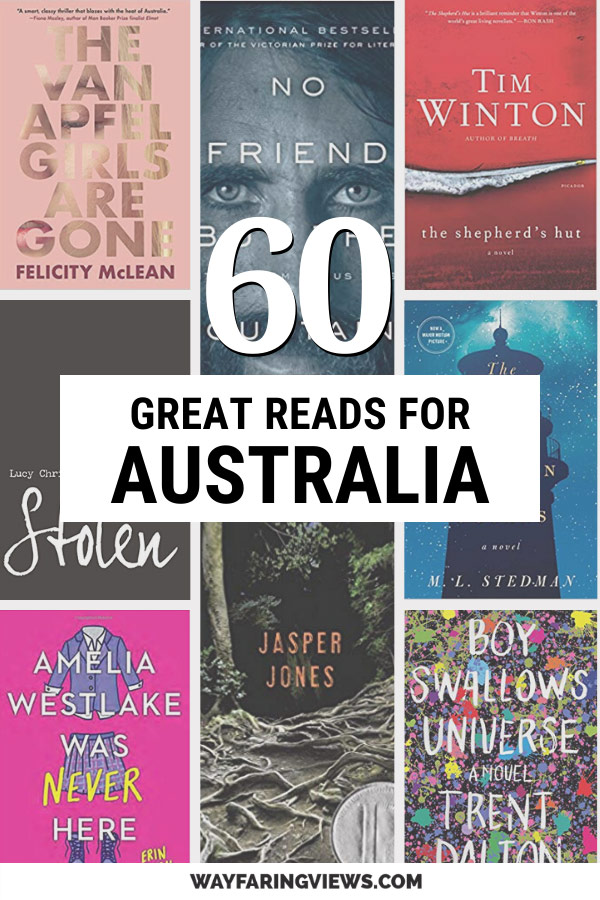 Reading list of the best Australian books. 60 great reads with book covers