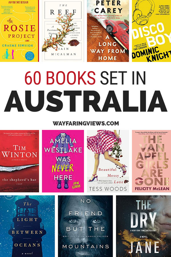 List of books set in Australia. With Australian book covers
