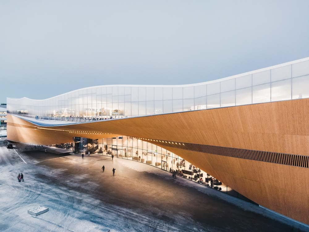 Super cool libraries: Oodi Library Helsinki Finland