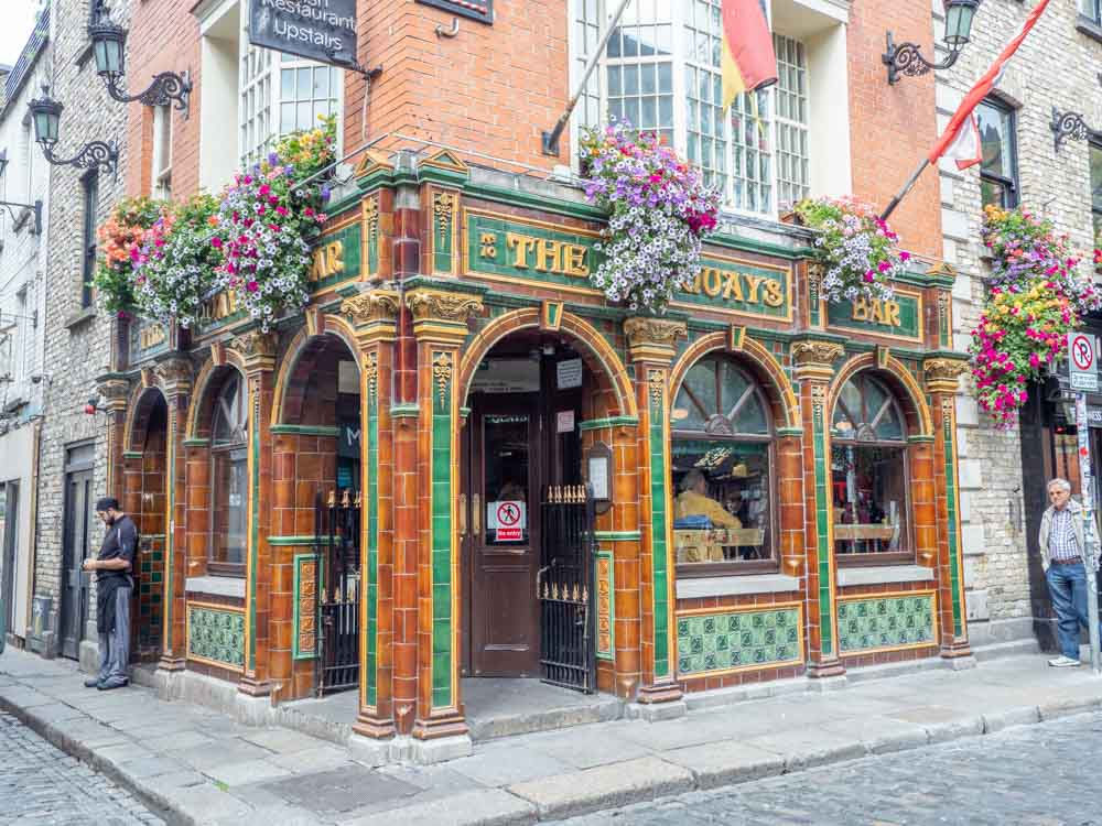 Ireland travel: Quays Bar Dublin Ireland