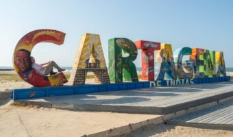 Cartagena in three days- Cartagena sign