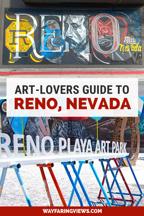 Fun things to do in Reno for art-lovers. Reno mural and sculpture park