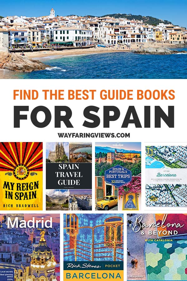 Travel Books for Spain- find the best guidebooks