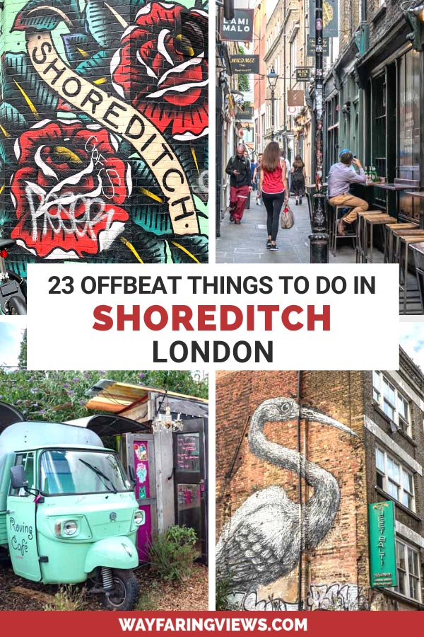 23 offbeat things to do in Shoreditch London