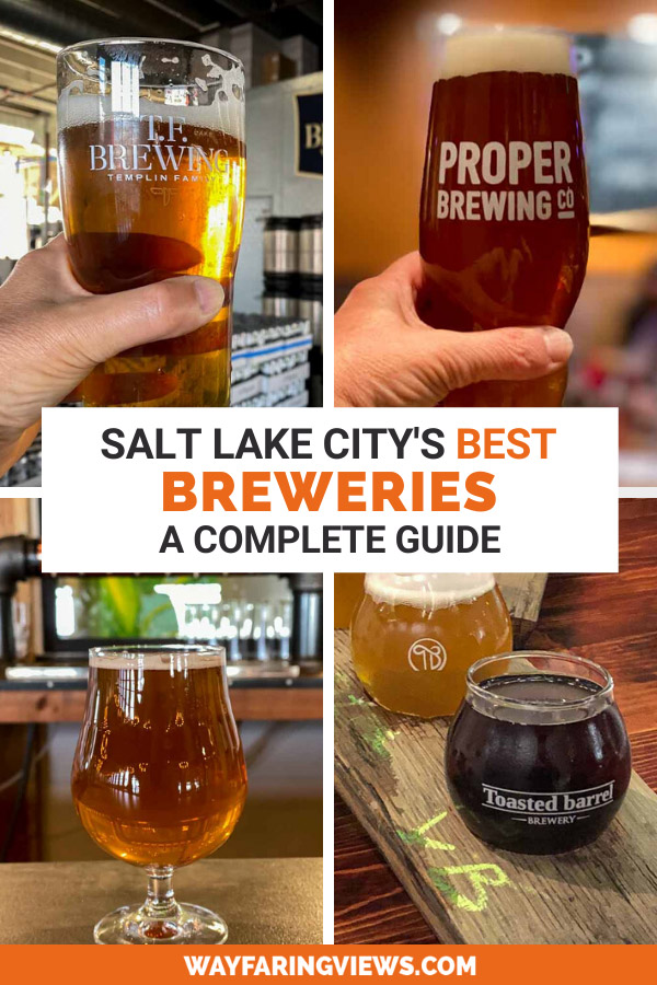 Complete Salt Lake Brewery Guide