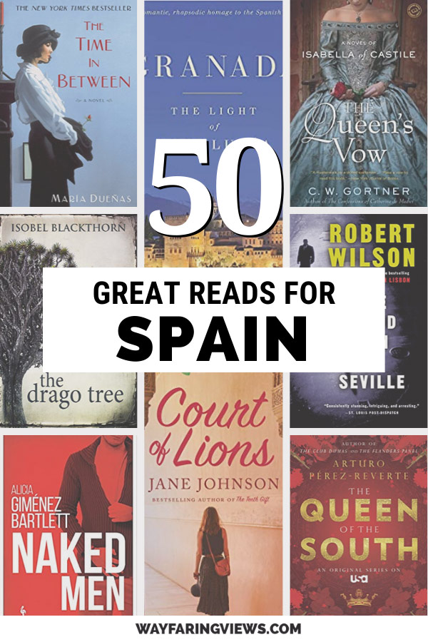 50 best books on Spain and books set in Spain