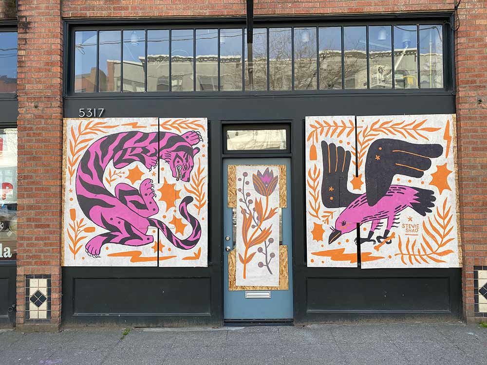 These Coronavirus Murals are Bringing Messages of Hope to Seattle