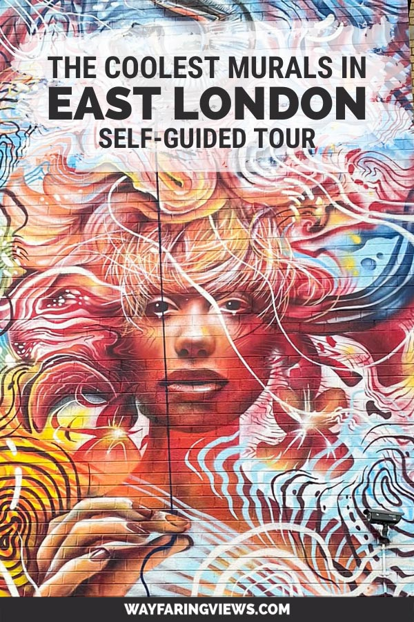 Find the coolest street art and graffiti in Shoreditch. Self Guided tour.