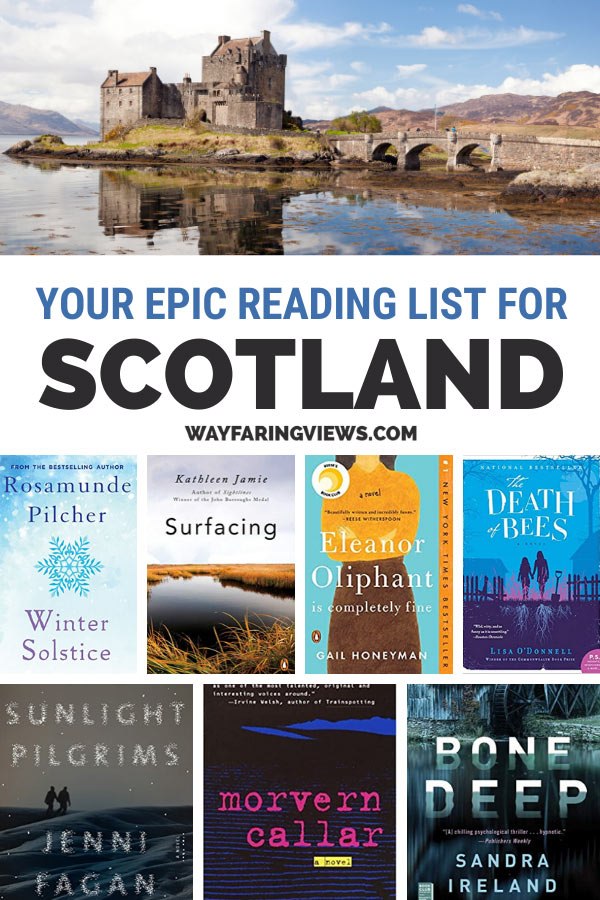 Epic reading list for books set in Scotland