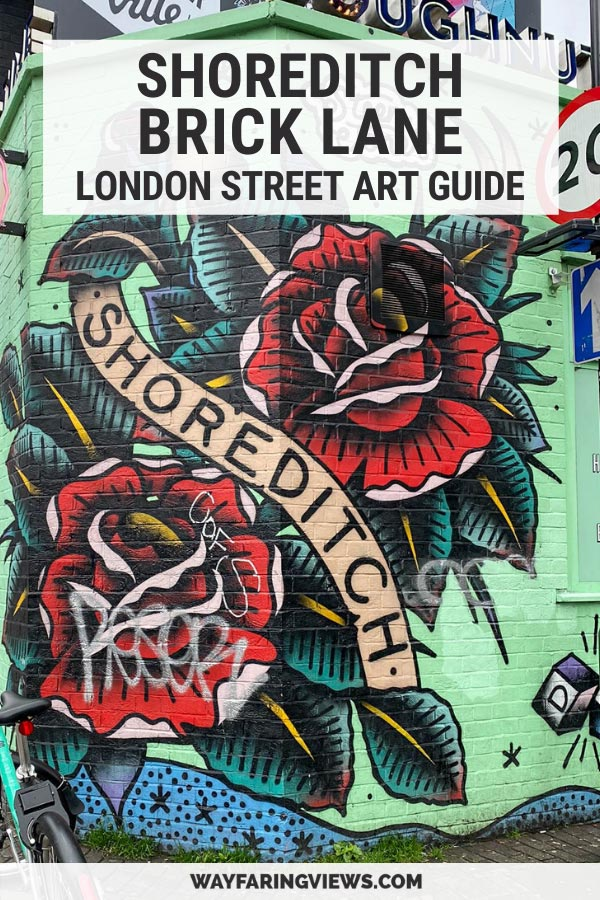Shoreditch brick lane street art guide