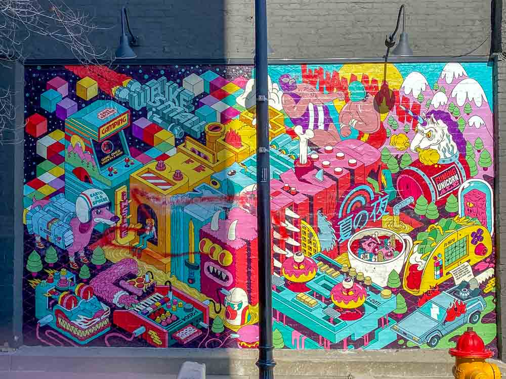 SLC mural Belief in the Making Dave Arcade