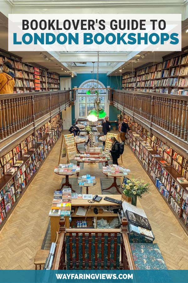 Book lover's guide to London bookshops