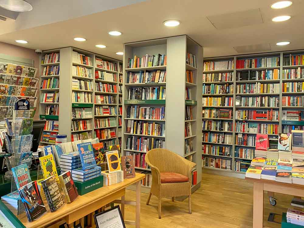 London Review of Books Russell Square. Bookstore interior
