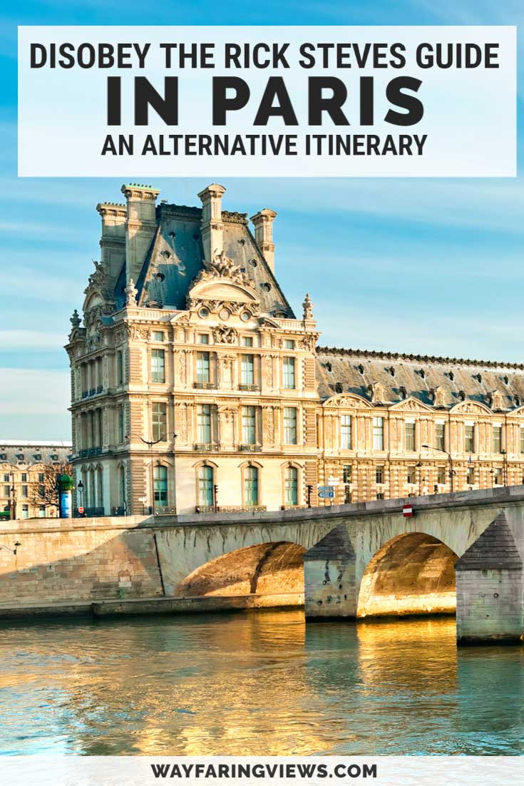 Rick Steves Paris four day itinerary