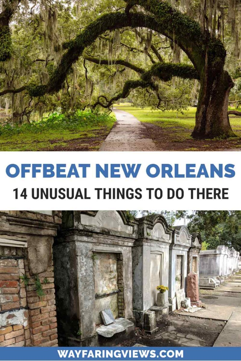 Off the beateOff the beaten path New Orleansn path New Orleans